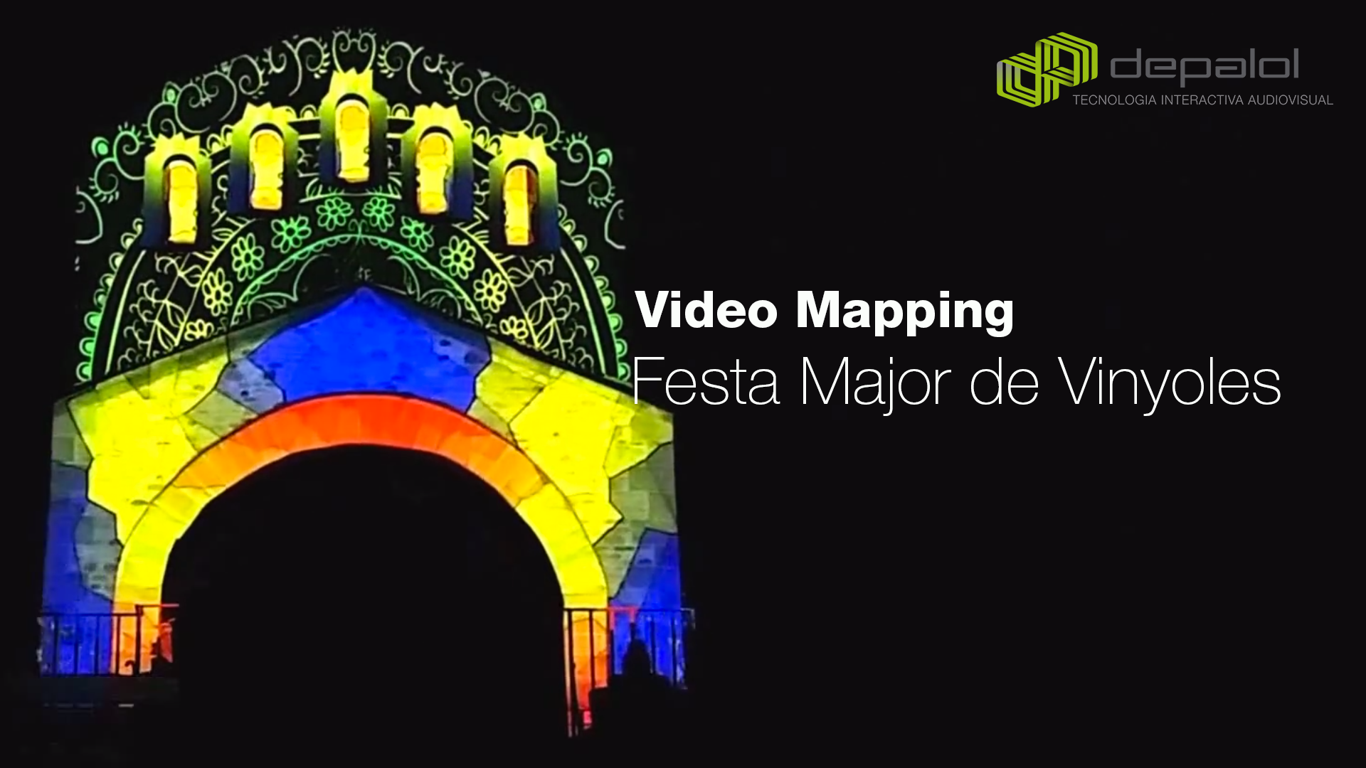 Videomapping a Vinyoles